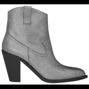 Saint Laurent Curtis 80 Western Ankle Boot